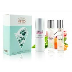 "Kenzo ""Aqua pour Femme"", 3x20 ml, , 460 руб., 501173, Kenzo, Мини-парфюм 3х20 ml"