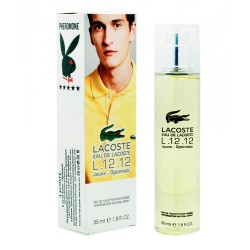 "Lacoste ""Eau de Lacoste L.12.12 Jaune Optimistic Yellow"", 55ml, , 350 руб., 842022, Lacoste, Духи с феромонами, 55ml"