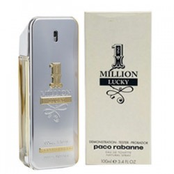 Тестер Paco Rabanne 1 Million Lucky, 100 ml, , 1 200 руб., 700510, Paco Rabanne, Для мужчин