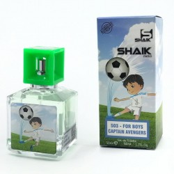 Shaik №503 For Boys Captain Avengers, 50 ml (для мальчиков), , 750 руб., 7801075, Shaik, Мини-парфюм