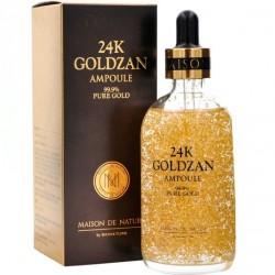 "Сыворотка для лица 24K Goldzan ""Ampoule 99.9% Pure Gold"", 100ml, , 775 руб., 1101023, Korean, Крема и сыворотки"
