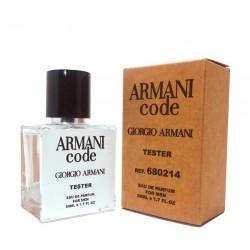 "Тестер Giorgio Armani ""Code"", 50ml, , 1 000 руб., 432015, Giorgio Armani, Для мужчин"
