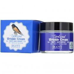 """Крем для лица антивозрастной Jigott """"Bird'S Nest Wrinkle Cream"""", 70ml, , 515 руб., 1101058, Korean, Крема и сыворотки"""