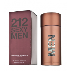 "Туалетная вода Carolina Herrera ""212 Sexy Men"", 100 ml (EU), , 2 100 руб., 851410, Carolina Herrera, Для мужчин"