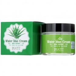 """Крем для лица увлажняющий Jigott """"Aloe Water Blue Cream"""", 70ml, , 515 руб., 1101057, Korean, Крема и сыворотки"""