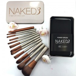 "Набор кистей для макияжа NAKED 3 ""Urban Decay"", 12 шт, , 700 руб., 700213, M.A.C, Для женщин"
