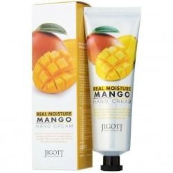 "Крем для рук Jigott ""Real Moisture Mango Hand Cream"", 100ml, , 220 руб., 1104004, Korean, Крема для тела"