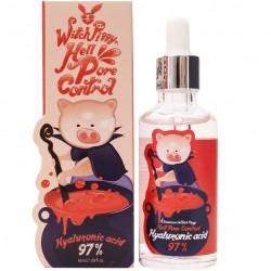 """Ампульная сыворотка Elizavecca """"Witch Piggy Hell Pore Control Hyaluronic Acid 97%"""", 50ml, , 760 руб., 1101040, Korean, Крема и сыворотки"""