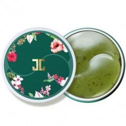 """Гидрогелевые патчи с лепестками зелёного чая """"Jayjun Green Tea Eye Gel Patch"""", , 645 руб., 1106016, Korean, Патчи для глаз"""