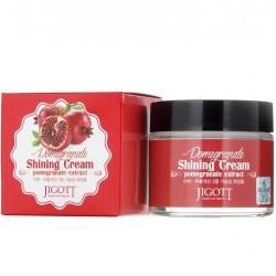 """Крем для лица регенерирующий Jigott """"Pomegranate Shining Cream"""", 70ml, , 515 руб., 1101060, Korean, Крема и сыворотки"""