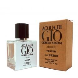 "Тестер Giorgio Armani ""Acqua Di Gio Absolu"", 50ml, , 1 000 руб., 432014, Giorgio Armani, Для мужчин"