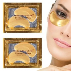"Коллагеновые патчи для глаз ""Crystal Collagen Gold Powder Eye Mask"", , 65 руб., 1106023, Korean, Патчи для глаз"