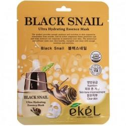 """Тканевая маска для лица Ekel """"Ultra Hydrating Essence Mask Black Snail"""", , 130 руб., 1102032, Korean, Маски для лица"""