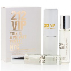 "Carolina Herrera ""212 VIP"", 3x20 ml, , 460 руб., 501135, Carolina Herrera, Мини-парфюм 3х20 ml"