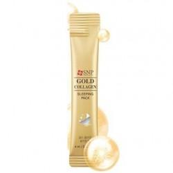 "Ночная маска SNP ""Gold Collagen Sleeping Pack"", , 100 руб., 1102006, Korean, Маски для лица"