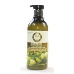Шампунь для волос против перхоти Wokali Olive Anti-dandruff & Stop-itching, 550 ml, , 400 руб., 700672, Korean, Для волос