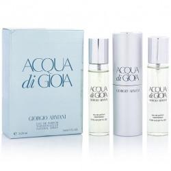 "Giorgio Armani ""Acqua di Gioia"", 3x20 ml, , 460 руб., 501160, Giorgio Armani, Мини-парфюм"