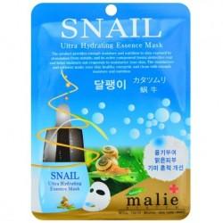 """Тканевая маска для лица Ekel """"Ultra Hydrating Essence Mask Black Snail"""", , 130 руб., 1102031, Korean, Маски для лица"""