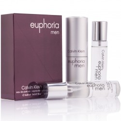 "Calvin Klein ""Euphoria Men"", 3x20 ml, , 460 руб., 501213, Calvin Klein, Для мужчин"