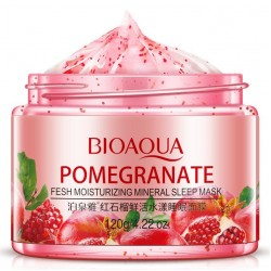 "Ночная маска BioAqua ""Pomegranate Fresh Mineral Sleep Mask"", , 425 руб., 1102001, Korean, Маски для лица"