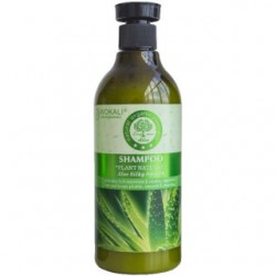 Шампунь для волос Wokali Aloe Silky Smooth, 550 ml, , 400 руб., 700669, Korean, Для волос