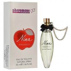 "Духи с феромонами Nina Ricci ""Nina"", 30ml, , 420 руб., 741033, Nina Ricci, Для женщин"