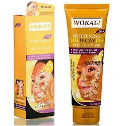 "Золотая маска для лица ""Wokali Whitening Gold Caviar Peel Off Mask"", , 310 руб., 1102028, Korean, Маски для лица"