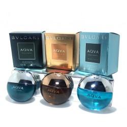 Подарочный набор Bvlgari, 3х15 ml (мужской), , 800 руб., 400251, Bvlgari, Подарочные наборы 3х15ml