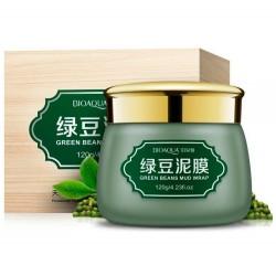 """Очищающая грязевая маска BIOAQUA """"Green Beans Mud Wrap"""", , 435 руб., 1102029, Korean, Маски для лица"""