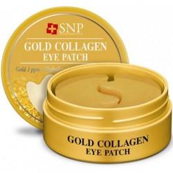 "Гидрогелевые патчи для глаз SNP ""Gold Collagen Eye Patch"", , 775 руб., 1106030, Korean, Патчи для глаз"