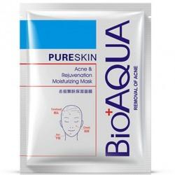 "Тканевая маска BioAqua ""Pure Skin Acne and Rejuvenation Moisturizing Mask"", , 155 руб., 1102013, Korean, Маски для лица"