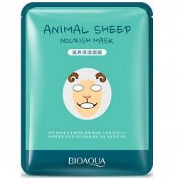 """Тканевая маска BIOAQUA """"Animal Face Sheep"""", , 100 руб., 1102025, Korean, Маски для лица"""