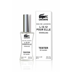 Тестер Lacoste Eau De Lacoste L.12.12 Pour Elle Sparkling For Women 60 ml, , 600 руб., 1473066, Lacoste, Для женщин