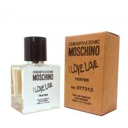 """Тестер Moschino """"I Love Love"""", 50ml, , 1 000 руб., 431054, Moschino, Для женщин"""