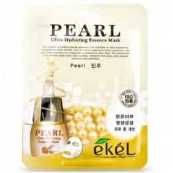 """Тканевая маска для лица Ekel """"Ultra Hydrating Essence Mask Pearl"""", , 130 руб., 1102035, Korean, Маски для лица"""