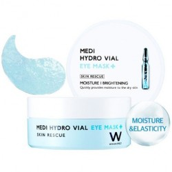 "Увлажняющие патчи для глаз Wonjin ""Medi Hydro Vial Eye Mask"", , 600 руб., 1106002, Korean, Патчи для глаз"