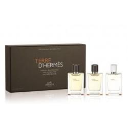 Подарочный набор Terre D'Hermes, 3x12,5 ml, , 1 500 руб., 700132, Hermes, Подарочные наборы