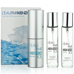 "Kenzo ""L'eau Par Kenzo Ice Pour Femme"", 3x20 ml, , 460 руб., 501174, Kenzo, Мини-парфюм 3х20 ml"