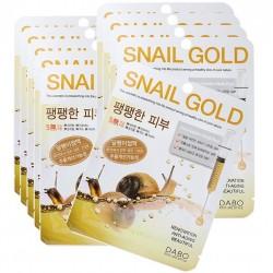 """Тканевая маска DABO """"First Solution Snail Gold Mask Pack"""", , 130 руб., 1102015, Korean, Маски для лица"""