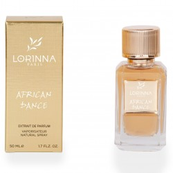 Lorinna Paris African Dance, 50 ml, , 650 руб., 8740206, Lorinna Paris, Lorinna Paris (нишевая), 50ml