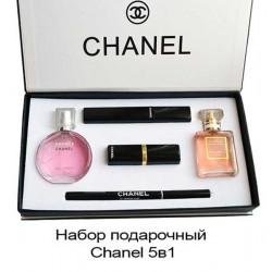 Подарочный набор Chanel парфюм + косметика 5в1, , 1 750 руб., 400151, Christian Dior, Большие подарочные наборы