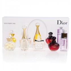 Christian Dior Les Parfums Miniature Collection 5 Piece Set, , 1 250 руб., 400148, Christian Dior, Большие подарочные наборы