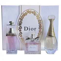 Подарочный набор парфюмерии Christian Dior 3x30ml, , 1 900 руб., 400163, Christian Dior, Подарочные наборы